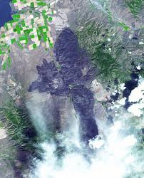 Wildfires In South West by Destructive Northern California Fires Nasa