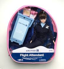 United Airline Luggage United Airlines Flight Attendant Doll The Flight Attendant Shop