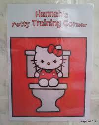 kitty toilet o kitty bathroom toilet decals potty training