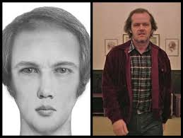 a police sketch artist re created fictional characters from their