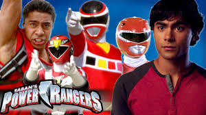 power rangers red ranger evolution
