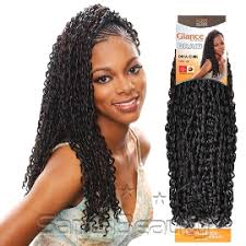 crochet braid hair modelmodel synthetic hair crochet braids glance curl samsbeauty