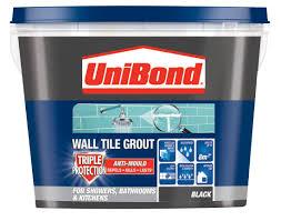 unibond black ready mixed grout w 1 38kg departments diy at b u0026q