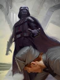 darth vader force choke rob rey art illuxcon and and darth vader