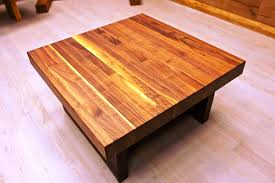 Solid Oak Coffee Table 15 The Best Large Solid Wood Coffee Tables