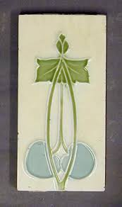 Art Deco Tile Designs 253 Best Style Art Nouveau Tiles Images On Pinterest Art Nouveau