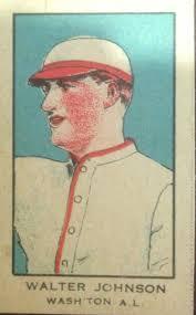 5 great walter johnson baseball cards on a budget