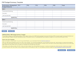 Spreadsheet For Budgeting Pmp Budget Template Project Starter U2014 Usaid