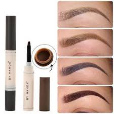 henna eye makeup eyebrow dye pencil waterproof brown tint paint henna eyebrow