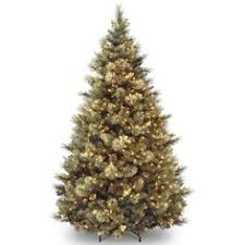 7 5 ft pre lit led sparkling pine set artificial