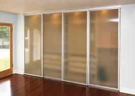 Wardrobe Doors Sliding Frosted Glass Sliding Wardrobe Doors Glass Doors