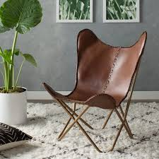Leather Lounge Chair Mistana Justa Leather Lounge Chair Reviews Wayfair Ca