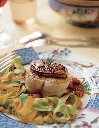 cuisiner un foie gras frais grenadins de veau au foie gras frais pour 6 personnes recettes
