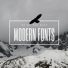 resume modern fonts for logos 50 modern fonts to give your designs a contemporary feeling learn