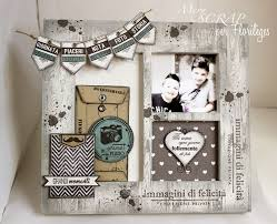 scrapbooking tutorial cornice 92 best cornici images on pinterest picture frame altered art and