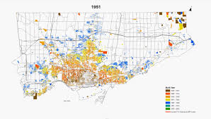Map Of Toronto And New York by Maps Of The Urban Growth Of The City Of Toronto Feb 2014