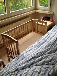 Cribs That Attach To Side Of Bed Home Dzine Bedrooms Cot For A New Born Baby Side Bed