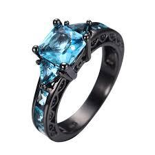 Aquamarine Wedding Rings by 35 Superb Princess Cut Aquamarine Engagement Rings Eternity Jewelry