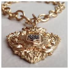sacred heart jewelry jewelry bold gold lg toggle front necklace sacred heart poshmark