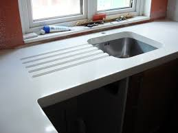 Concrete Kitchen Sink by Best 25 White Concrete Countertops Ideas On Pinterest Polished