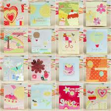 e105 160 pcs creative beautiful flower 3d fold handmade greeting
