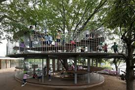 a tree play house for kindergarten designtaxi