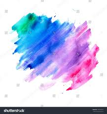 colors splash abstract watercolor background blue purple pink stock illustration