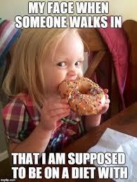On A Diet Meme - bye bye diet memes lol