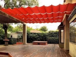 Backyard Awnings Ideas Extraordinary Diy Patio Awning Ideas Backyard Shade Ideas Best