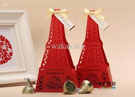 eiffel tower favors wedding favor boxes gift handmade diy box candy box chocolate