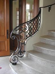 carpinter 237 a ebanister 237 fabulous scroll wrought iron half railing flowing curves that