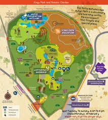 Kings Park Botanic Garden by Image Gallery Kings Park Map