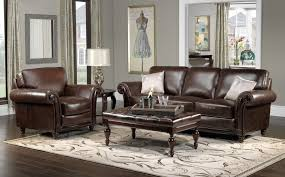 brown sofa living room ideas brown leather sofa white walls accent chair for couch colour schemes
