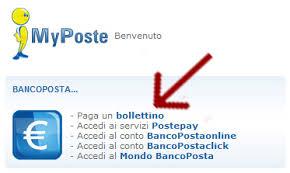 banco postaonline come pagare un bollettino postale on line