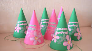 how to decorate birthday party at home how to make a beautiful birthday party hats diy home tutorial