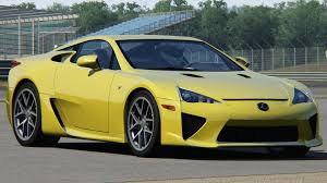 lexus lfa wallpaper yellow assetto corsa lexus lfa with wing animation youtube