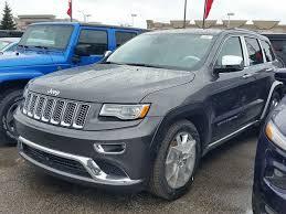 grey jeep grand cherokee 2016 2016 jeep grand cherokee summit 4x4 grey for 67535 in vaughan