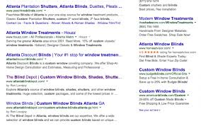 Window Blind Stop - local organic seo case study the blind depot captivate search