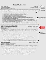 Samples Of Resume Formats by The Hybrid Resume Format