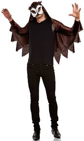 owl halloween costume mens caped owl haunt you costume mr costumes
