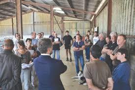 chambre agriculture du tarn le nouveau préfet était attendu sur le terrain par la profession
