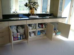 pull out baskets for bathroom cabinets amazing sophisticated pull out shelving for bathroom cabinets