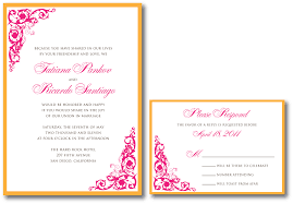 tangerine wedding invitation u2013 a vibrant wedding