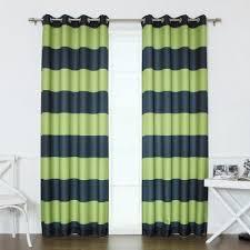 Rugby Stripe Curtains Best Home Fashion Rugby Stripe Room Darkening Curtain Pair