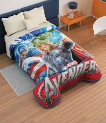 Avengers Duvet Cover Single Boys Bedding 28 Superheroes Inspired Sheets