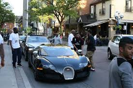 bugatti chris brown drake stunts in his new bugatti veyron in toronto photo urban