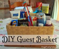 Pinterest Guest Bedroom Ideas - put those free samples to good use in a guest basket for your