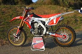 motocross bikes honda first look 2013 honda crf450f factory bike