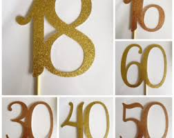 number cake topper number 18 cake topper eighteen cake topper number cake