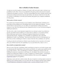 resume writing format for freshers achievements in resume examples for freshers
